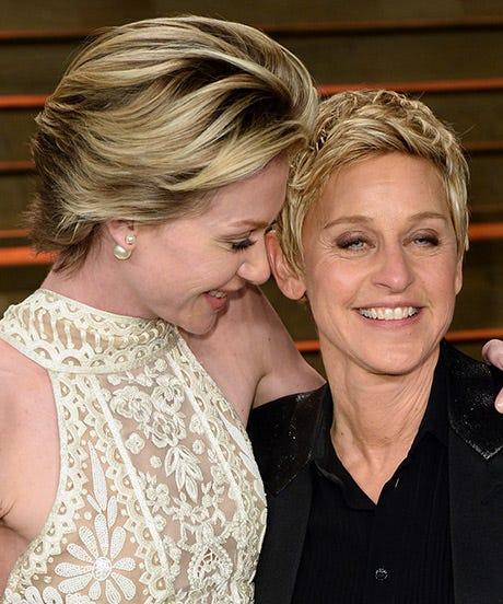 Portia De Rossi Wedding Hair: Portia De Rossi Anniversary Gift To Ellen DeGeneres