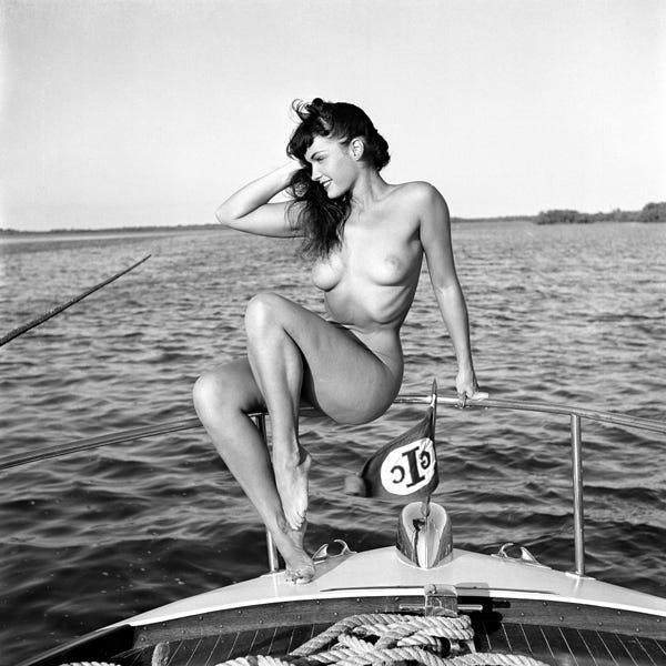 Rica Betty monroe nude looks like healthy