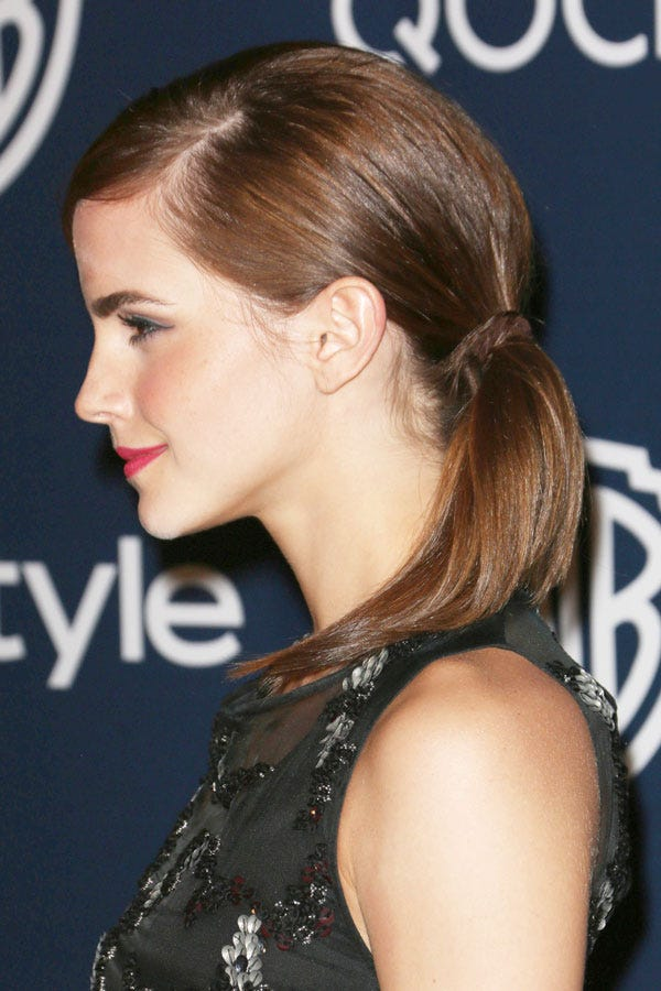 Celebrity Ponytail Pictures Celeb Hairstyles