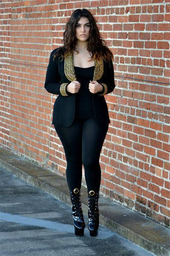 best plus size fashion bloggers   nadia aboulhosn curvy