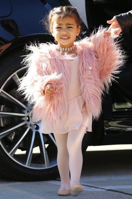 Kim Kardashian North West Ballerina