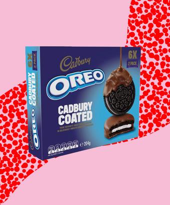 Cadbury Chocolate Covered Oreo Cookies Australia
