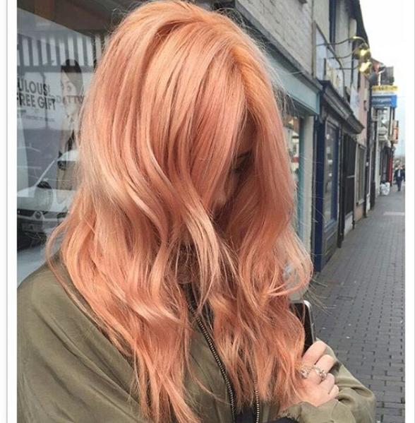 Blorange Ombre Hair Dye Trend New Rose Gold Instagram