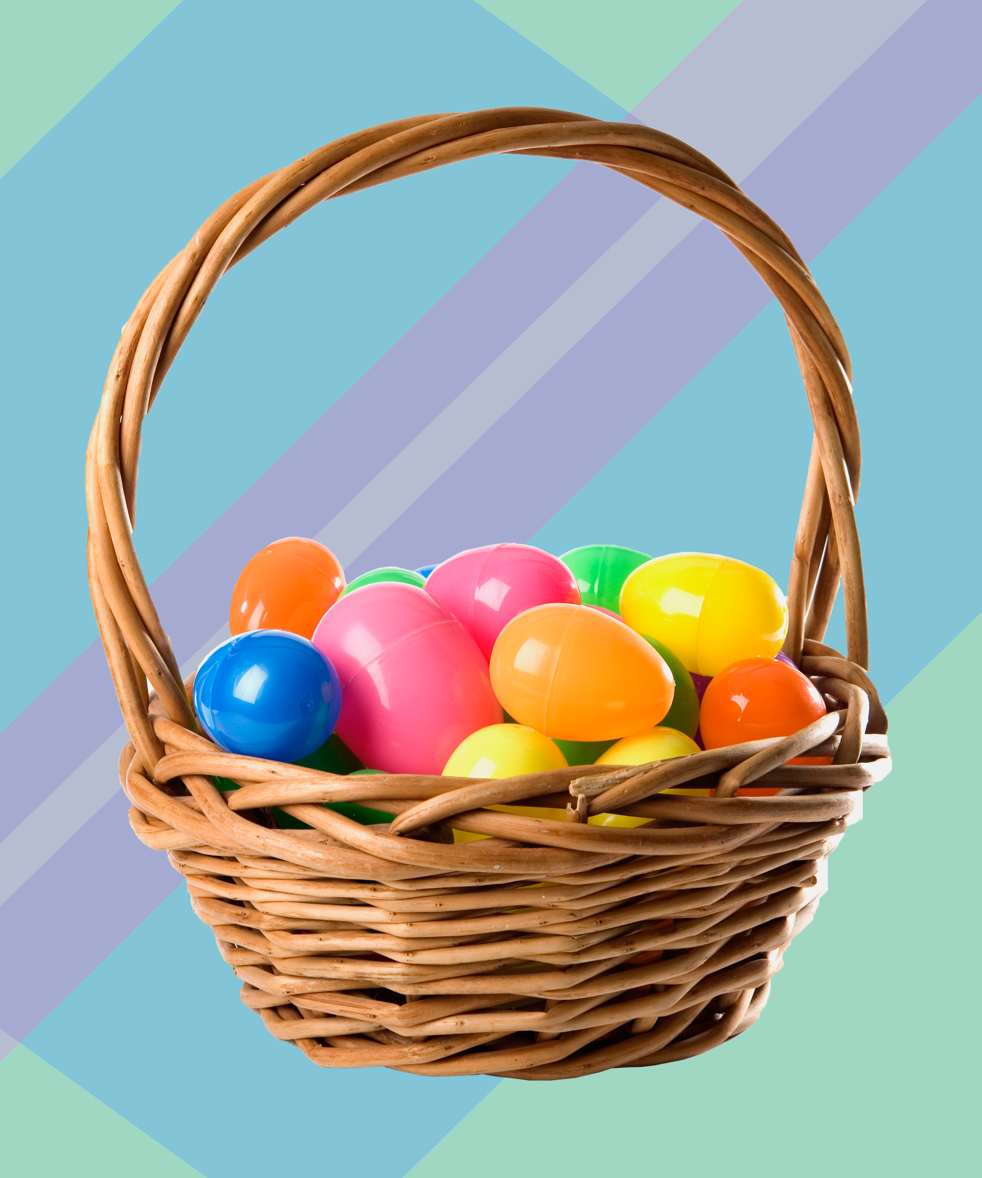 Easter Eggs In A Basket | www.pixshark.com - Images ...