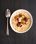 Cook Once, Eat Thrice: Bacon-Laced Chowder
