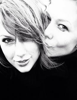 Taylor Swift & Karlie Kloss Take A Blissy Instagram Road Trip