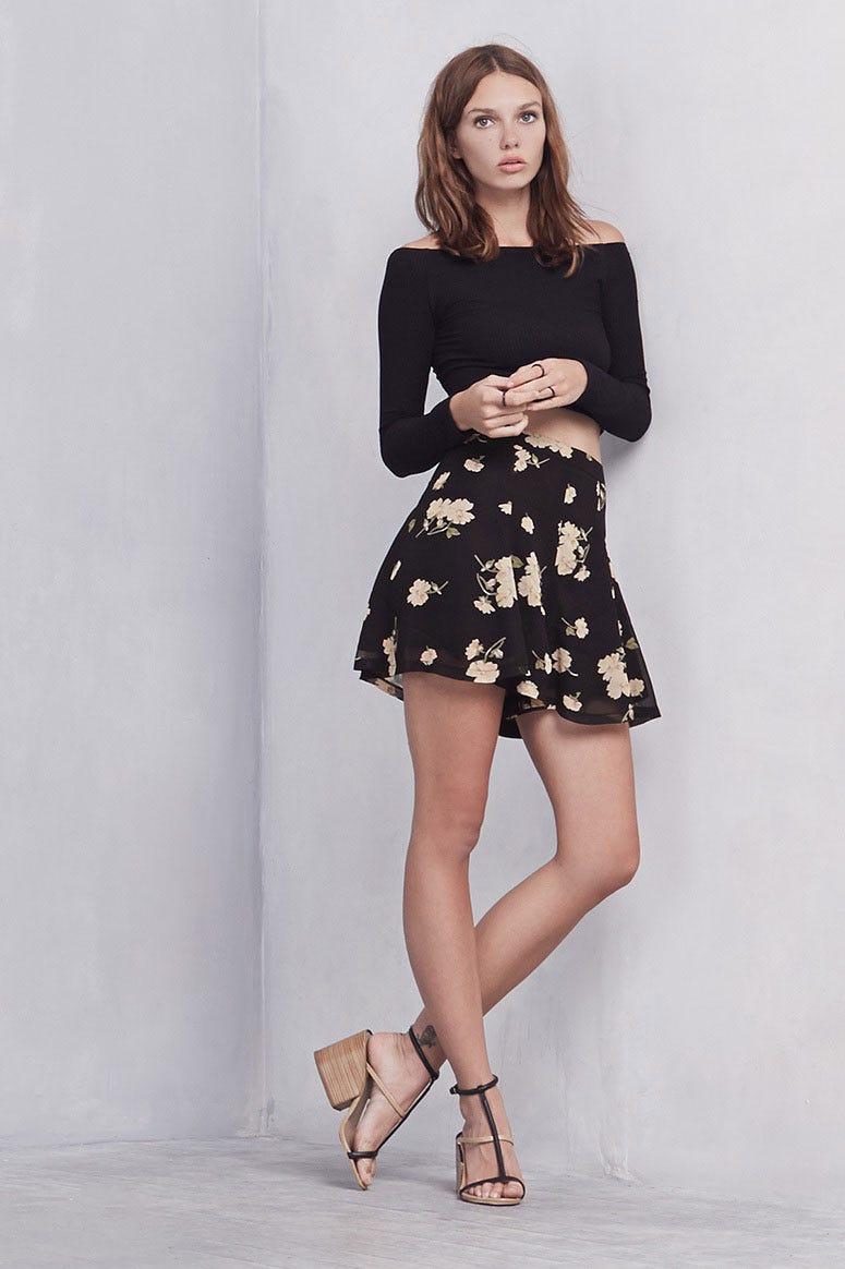 Shorts That Look Like Skirts Flowy Bermudas