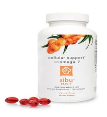 Nourish From WithinSibu Sea Buckthorn Cellular Support Healthy hair starts from within. Give yours a fighting chance with this mega- dose of vitamins, minerals, and omega fatty acids, including the rare omega 7. Your nails, skin, and locks will thank you.