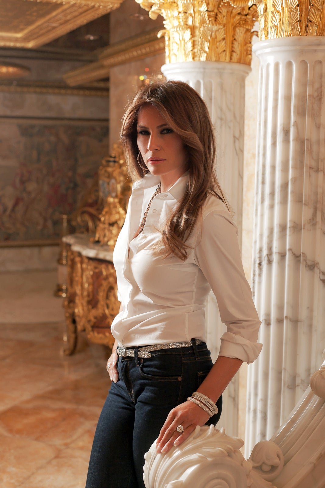 Exclusive Melania Trump Interview And Pictures Donald Trump Penthouse Tour And Interview