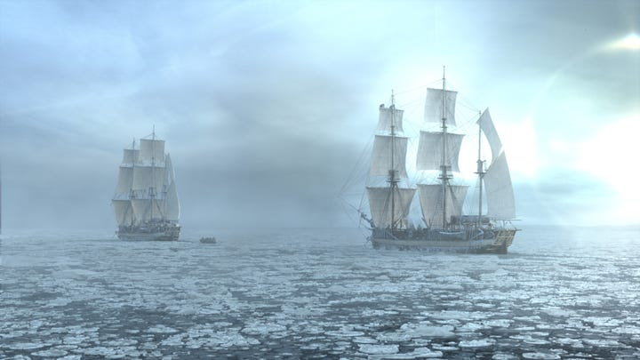 The Terror AMC Inspired By True Story Real Arctic Trip