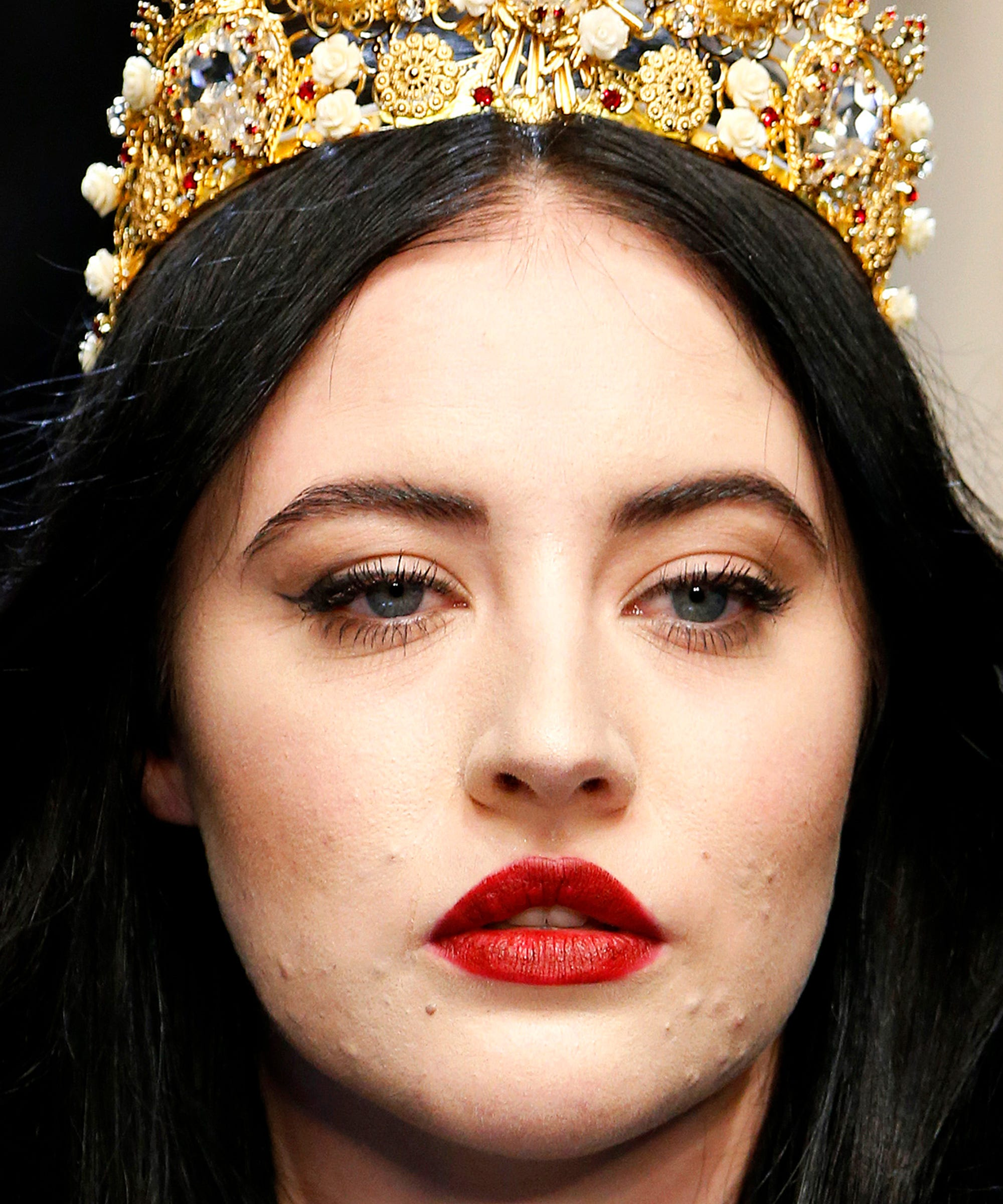 Image result for starlie smith dolce and gabbana acne