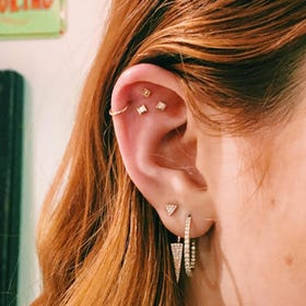 Ear Piercing Trend Constellations Pinterest Photos