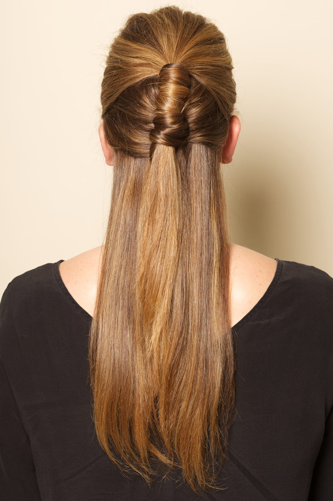 Half Ponytail Diy Hair How To Easy Hairstyles