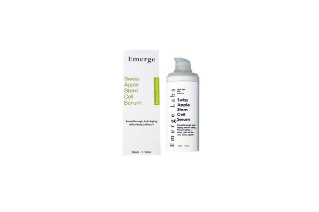 emerge Put Swiss Apple Stem Cells On Your Face Starting NOW