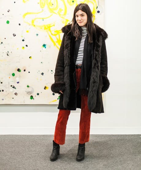 Armory Show Street Style Picture Spring Fashion Tips