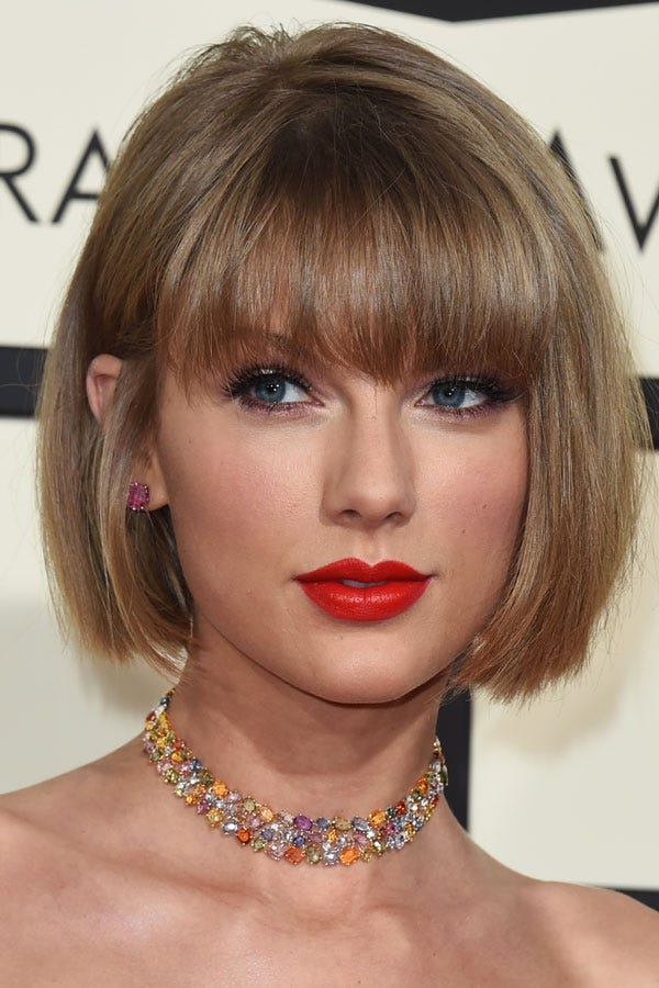 taylor swift hair short long hairstyles best looks