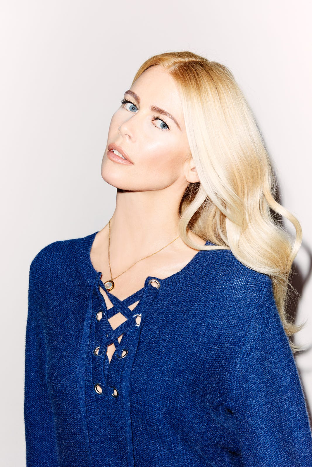 Claudia Schiffer New Clothing Line Stylebop Knitwear