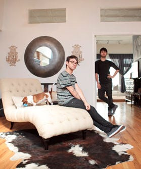 Home Tour Christian Siriano S Connecticut Home: Christian Siriano-Christian Siriano And Brad Walsh's