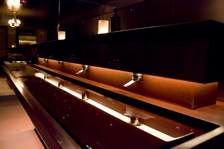 Coolest Bathrooms San Francisco Best Restaurant