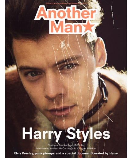 Harry Styles Another Man Fall 2016 Fashion Editorial