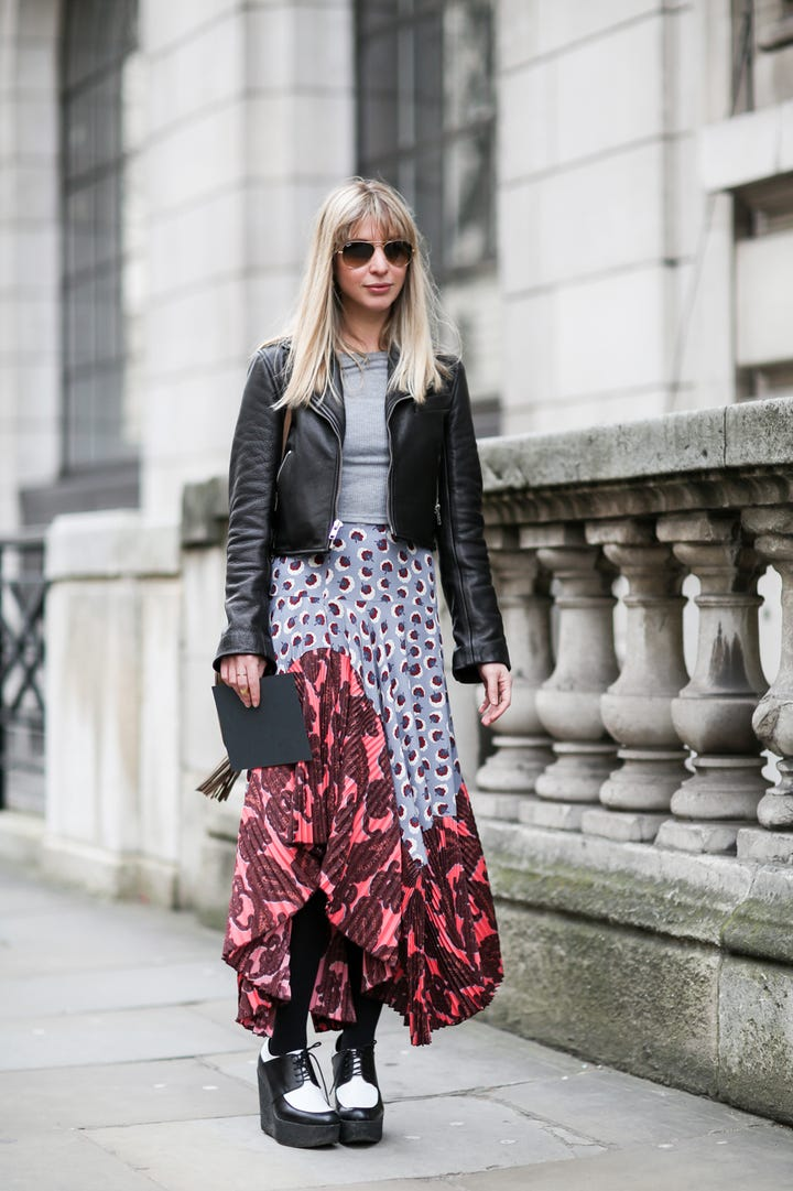 Language In 45 And 47 Stella Street: London Street Style Fashion Week Outfits Photography