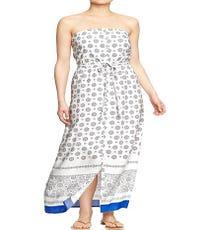 Old Navy Women's Tube Maxi Dress, $42 (originally $46.94), available at Old Navy.