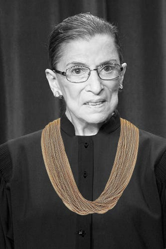 Ruth Bader Ginsburg Biography Accomplishments Collars