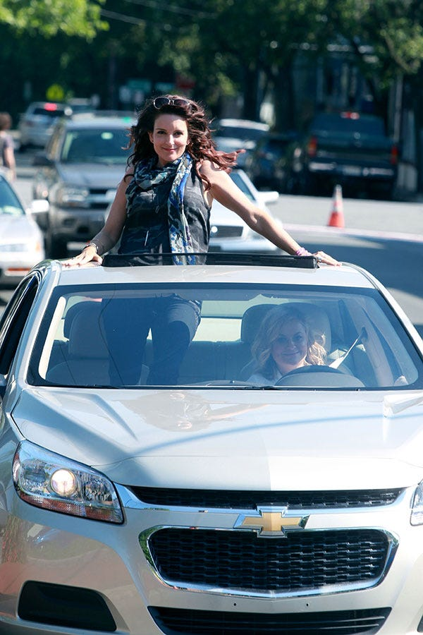 Here's The First Look At Tina & Amy's New Movie