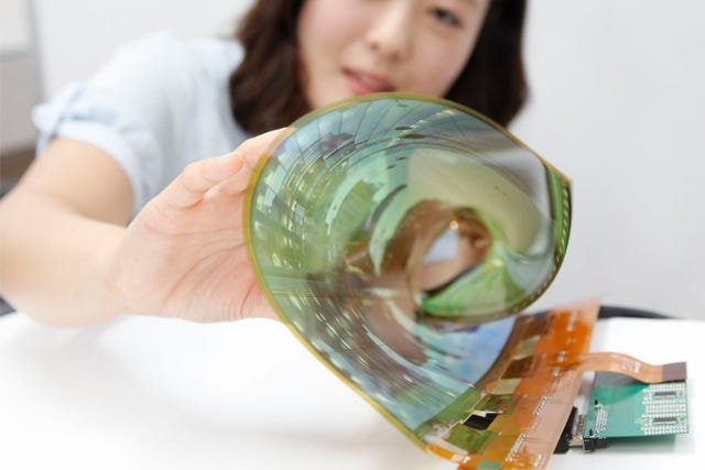 Flexible, Transparent TVs Will Be Yours By 2017