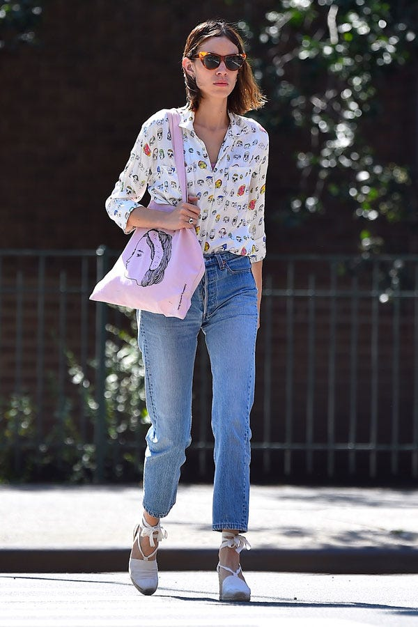 Alexa Chung Summer Outfits Fashion Girl Street Style