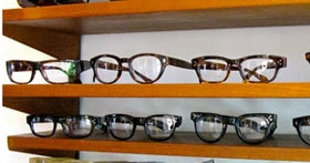 Old Focals Eyewear Shop In Pasadena Does Don Drapers Specs.