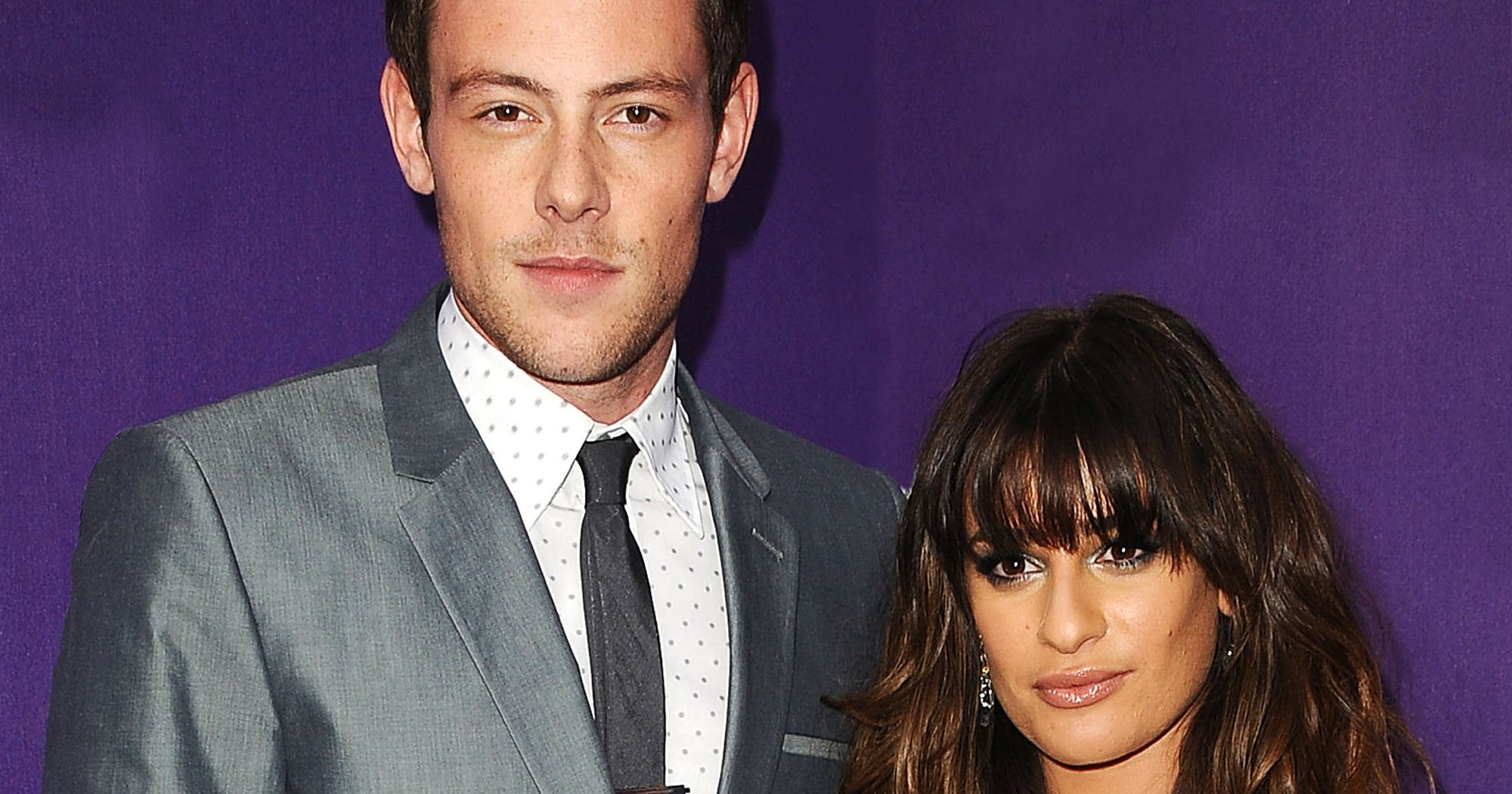 Lea Michele Cory Monteith Death Anniversary Photo