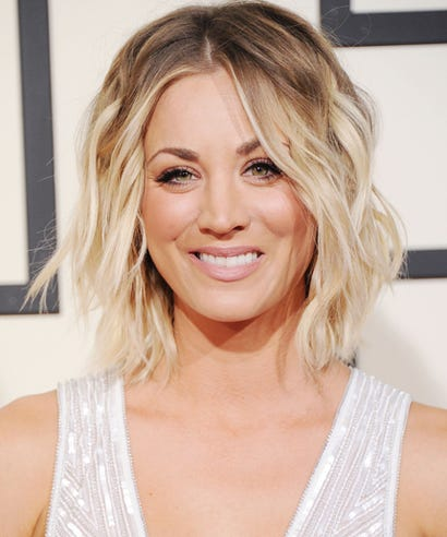 kaley cuoco blonde hair big bang theory new season