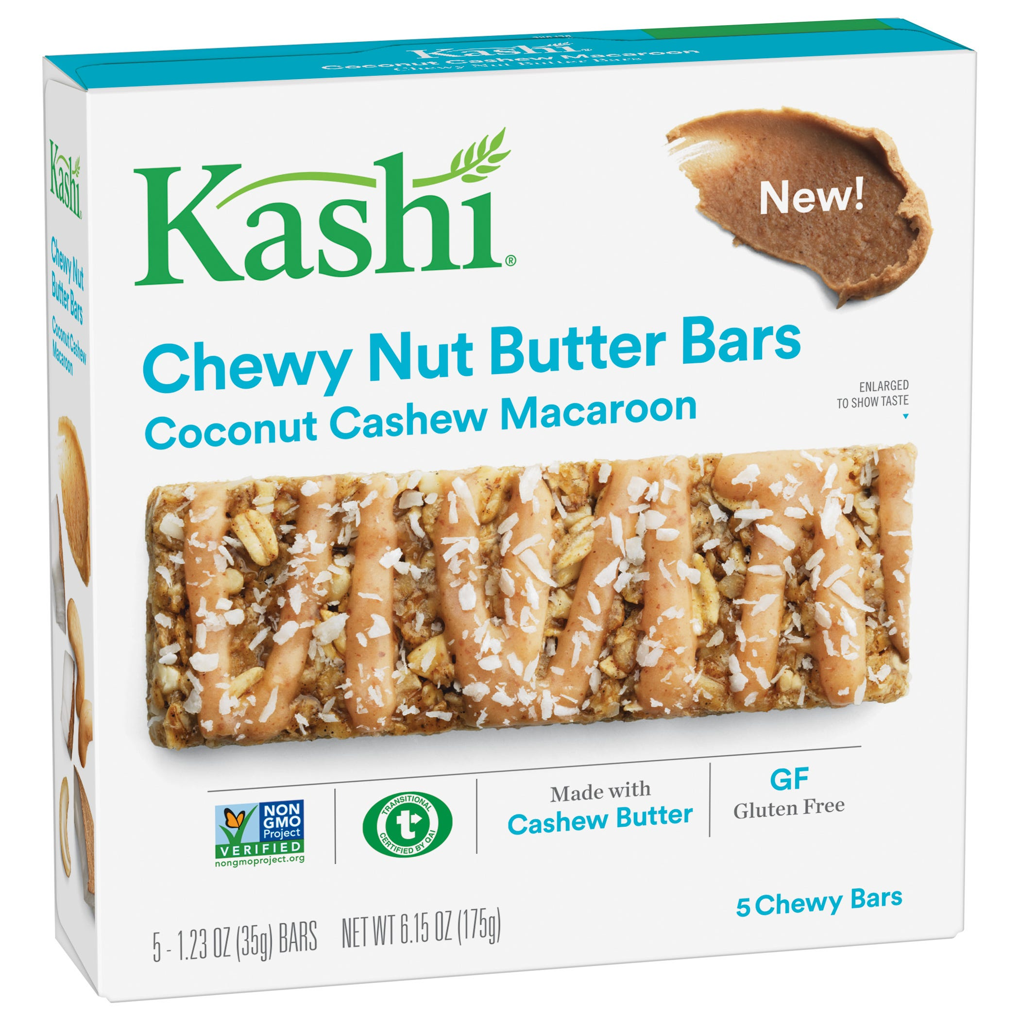 Chewy Nut And Cereal Bars Recipe — Dishmaps