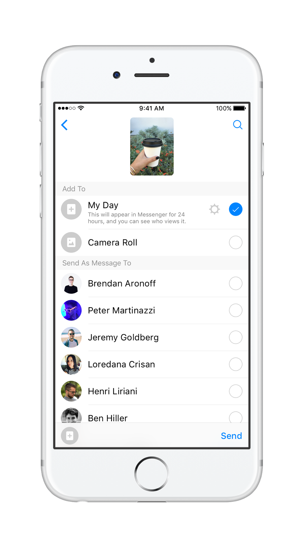 how to delete a photo sent on facebook messenger