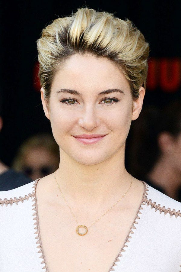 Shailene Woodley Is Now A Super-Blonde