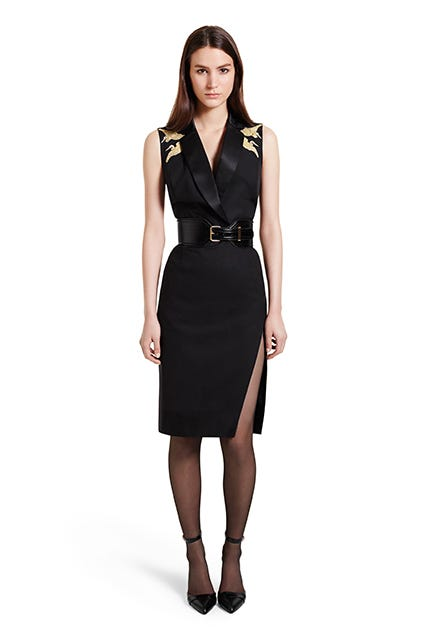 Altuzarra For Target bird slit dress