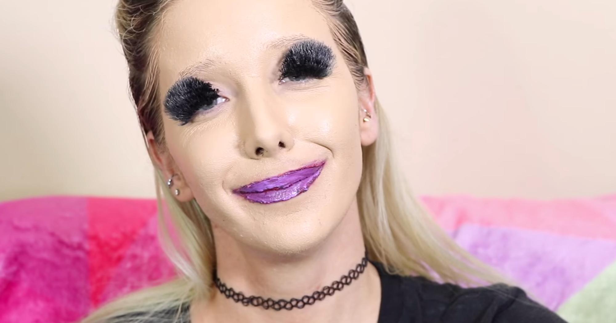 100 Layers Of Makeup Jenna Marbles