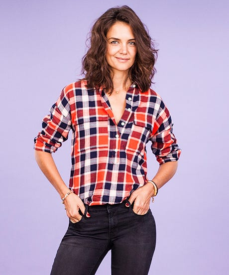 Katie holmes takes on our burning style qs