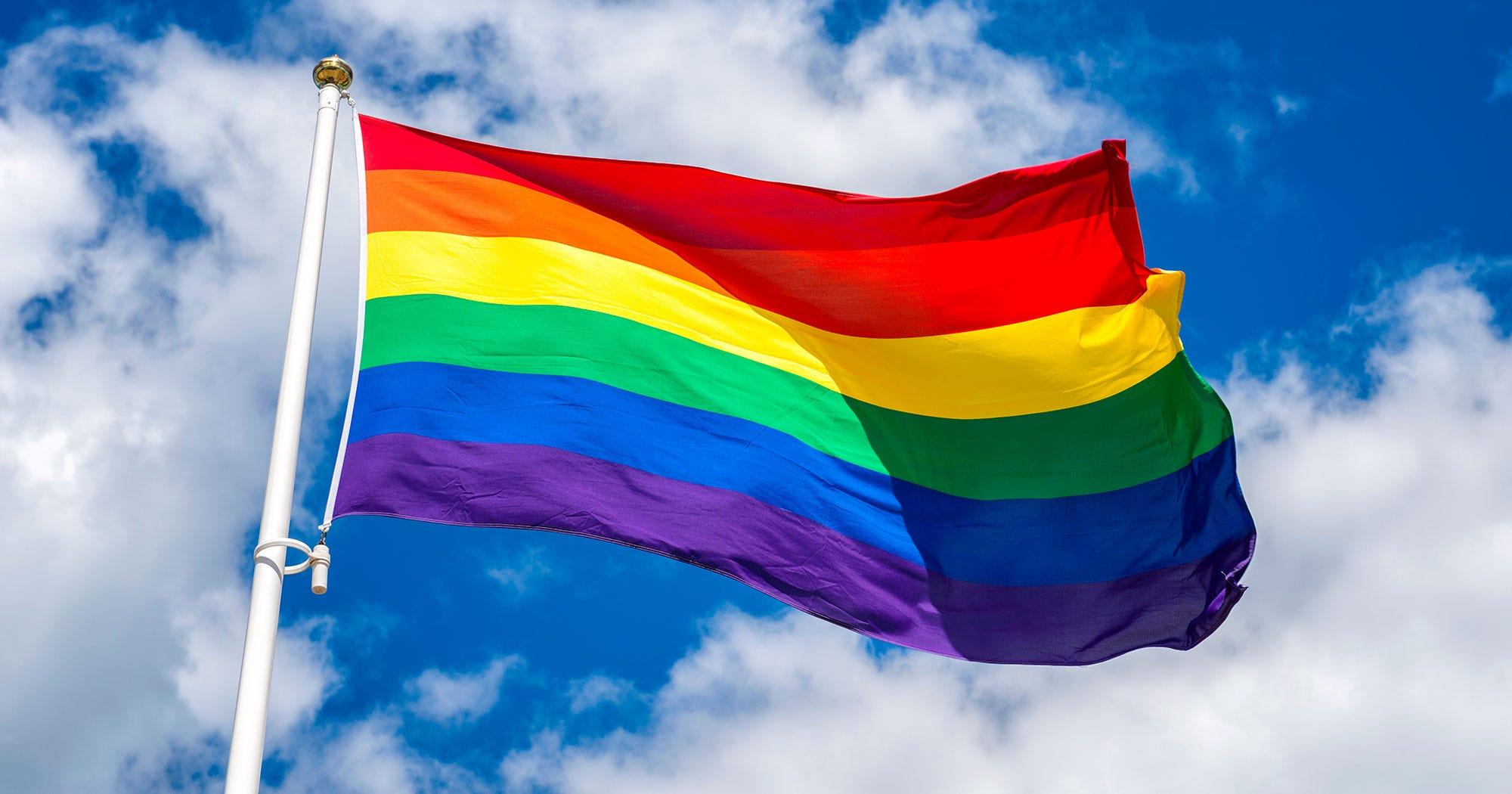 Rainbow Pride Armpit Hair Trend