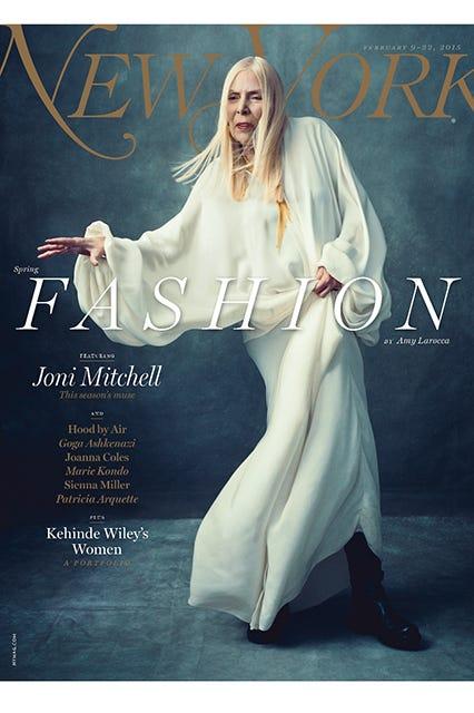 joni mitchell new york magazine cover spring fashion