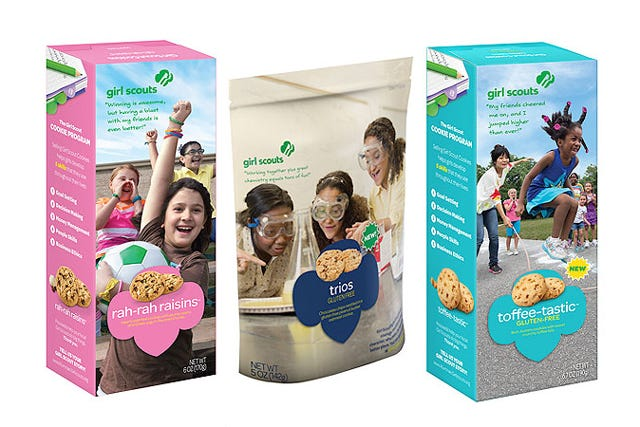 2015 New Girl Scout Cookies