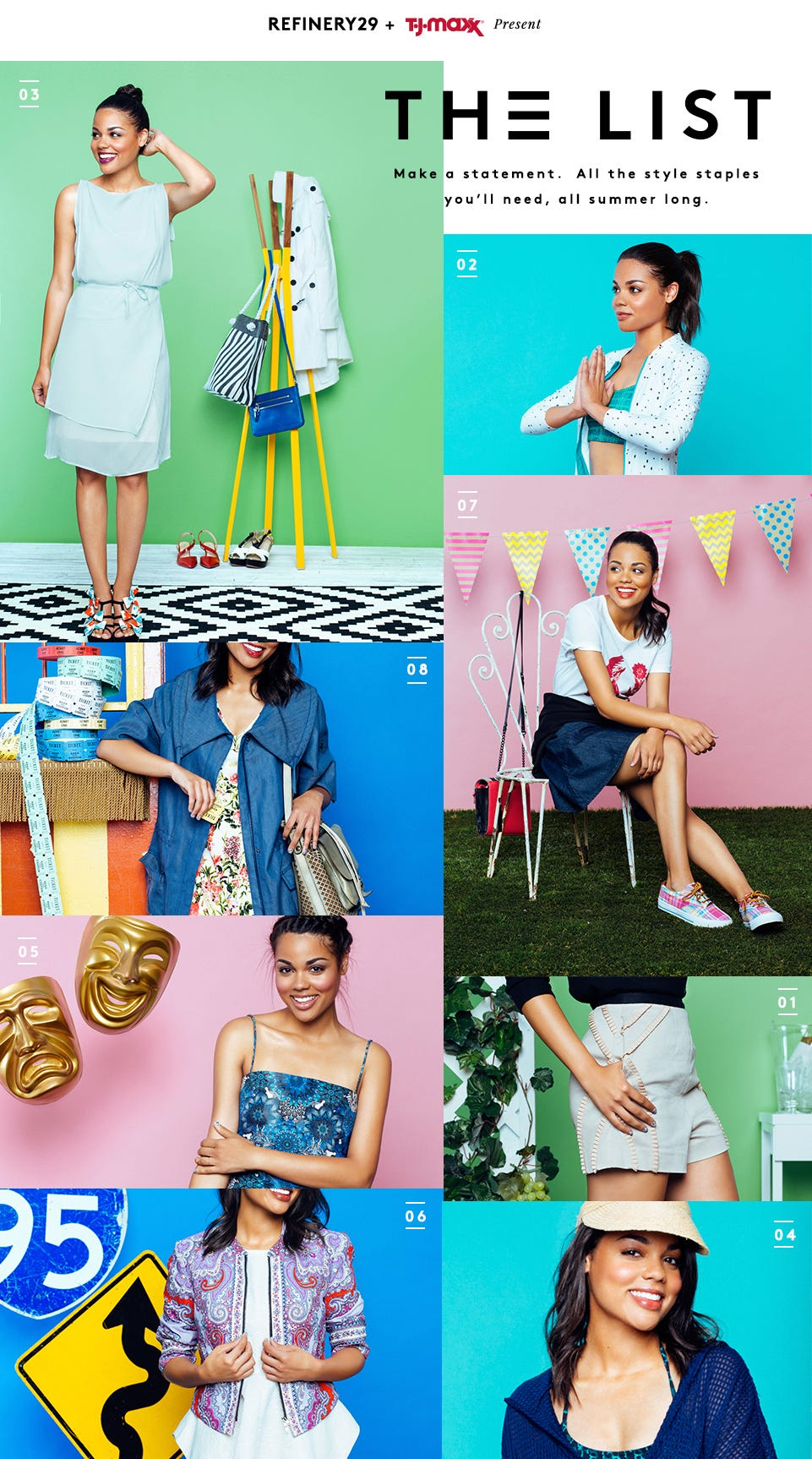 8 Fresh Outfit Ideas For EVERY Summer Scene