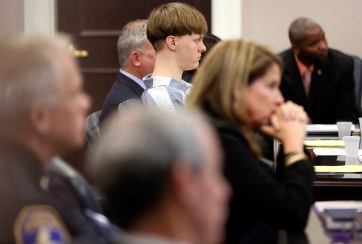 State Judge Gives Dylann Roof Nine Life Sentences