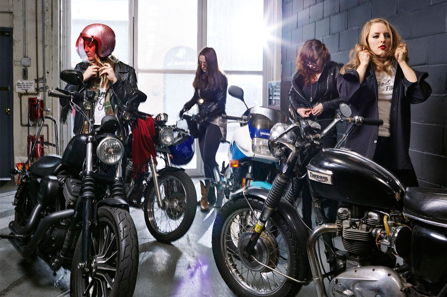 Motorcycle Riding Pants >> Miss Fires Female Motorcycle Gang