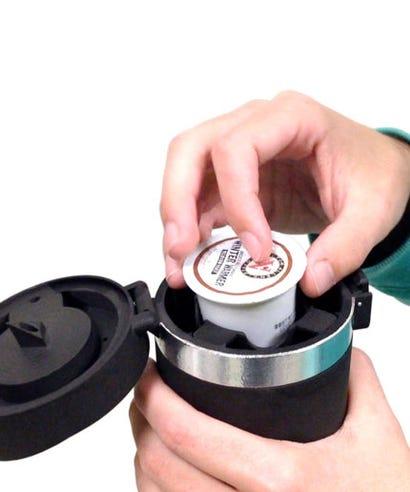 Travel Keurig Easy Coffee Maker Anycafe K Cup Brewer