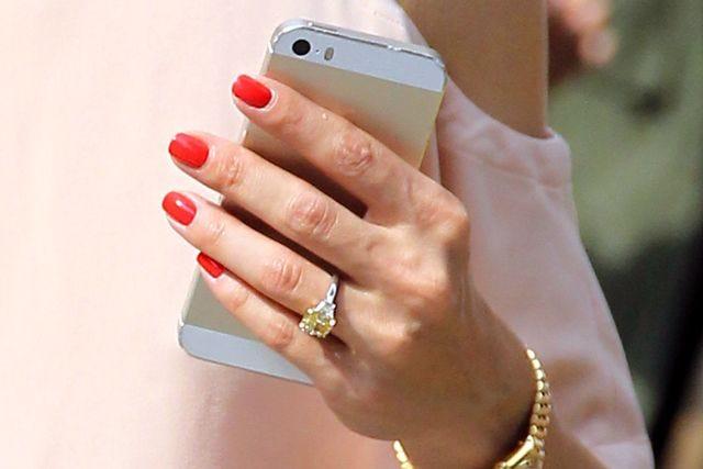 olivia palermo engagement ring yellow diamond jewelry
