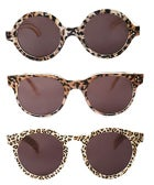 RAWR! Illesteva's Fierce Animal Print Shades Are Not Scaring Us