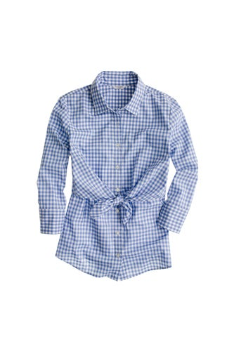 Altuzarra-Blue-Gingham-Top