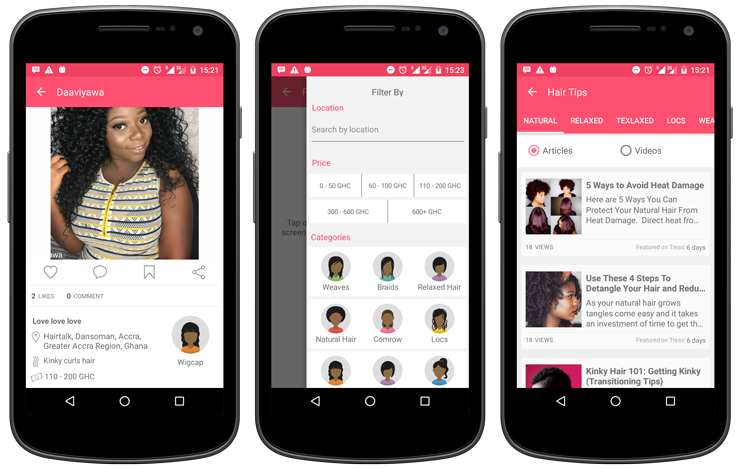 New App Tress Black Hairstyles Product Recommendations